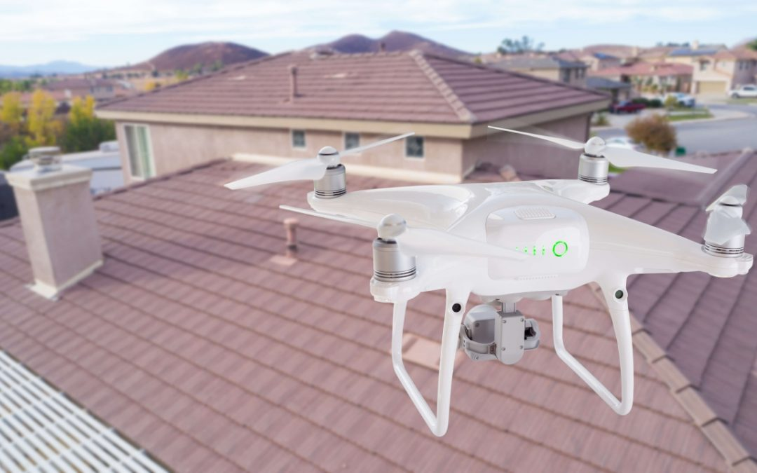 drones for home inspections allow complete examination of the roof